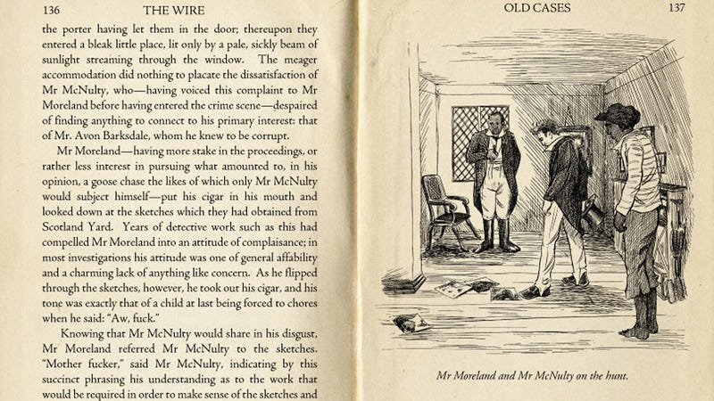 The Wire Reimagined as a Victorian Novel