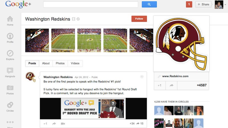 Hang Out with NFL Draft Picks on Google+ Because That's Not Awkward