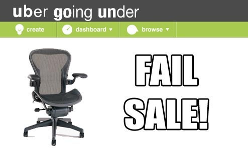 Uber.com firesale to feature cheap, lightly used Aeron chairs