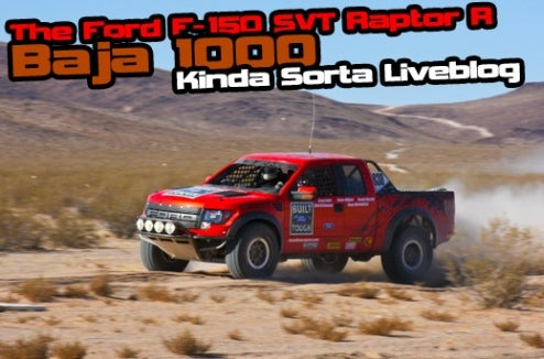 PickupTrucks.com Live Blogs Ford F-150 Raptor R At Baja 1000