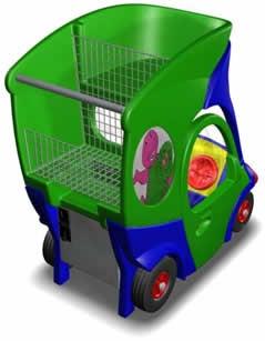 TV Shopping Cart Entertains Kids, Kills Dad's Integrity