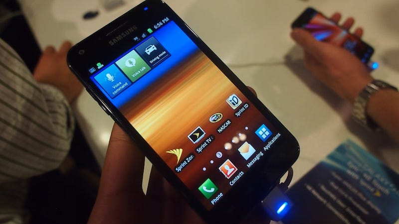 Samsung Galaxy S II Hands-On Gallery