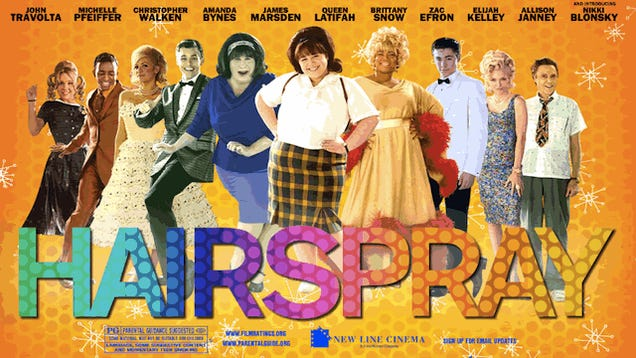 Children's Theater Production of Hairspray Obliviously Features Skinny White Kids