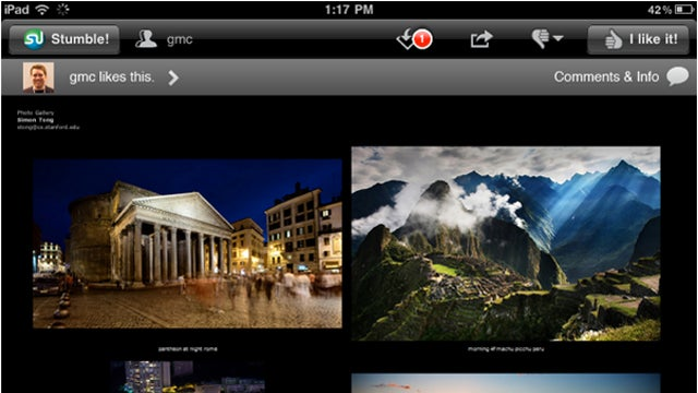 New StumbleUpon App for iPad Adds Social Bar, Shows Who Else Liked a Page