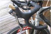 Make a wine cork kickstand for your bike