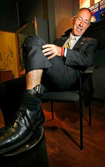 Screw Twitter, You Can Follow This Politician's GPS Ankle Bracelet