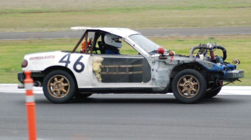 24 Hours Of LeMons Arse Freeze-A-Palooza Über Gallery: Mazda Madness