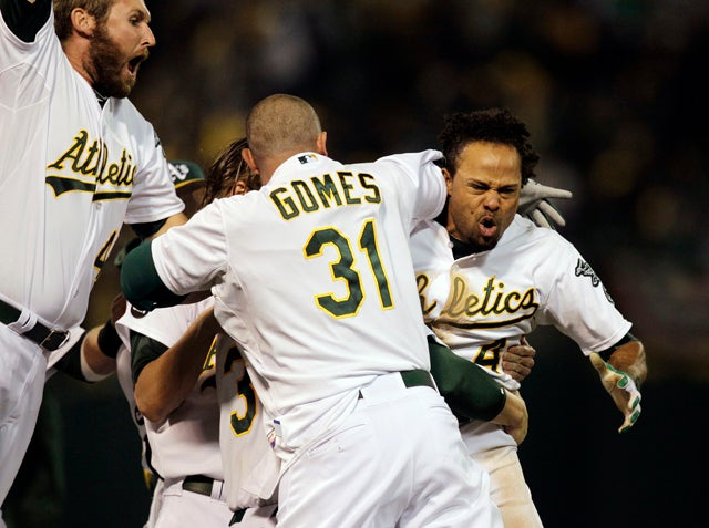 The Oakland A's Force Game 5 With An Epic, 9th-Inning Comeback Win Over Detroit