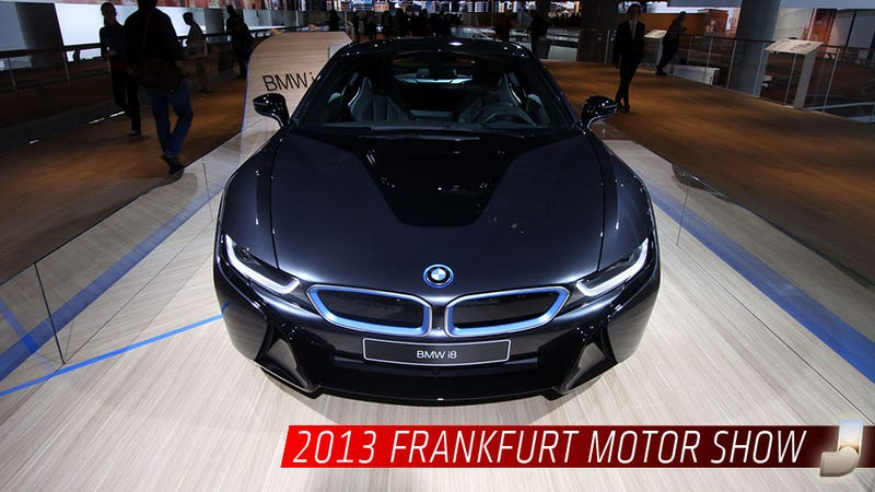 The BMW i8 Hybrid Sports Car Will Cost $135,925