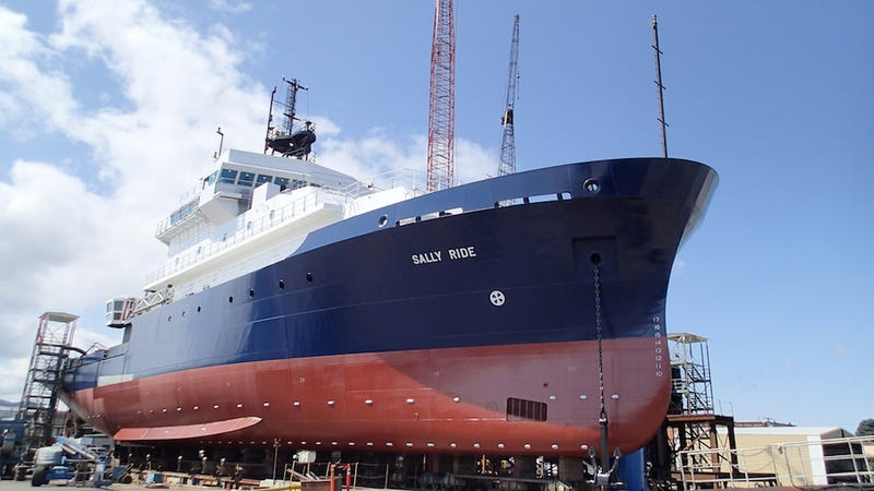 The Navy Named a Shiny New Research Ship After Astronaut Sally Ride