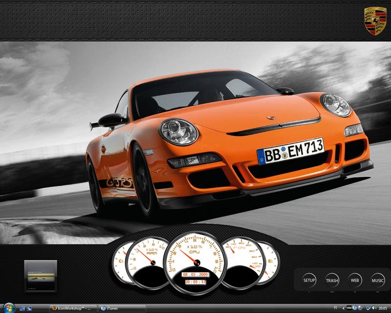 The Speed Freak Desktop