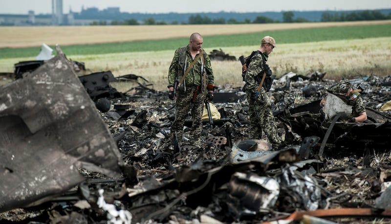 49 Dead After Pro-Russian Rebels Shoot Down Ukrainian Military Plane