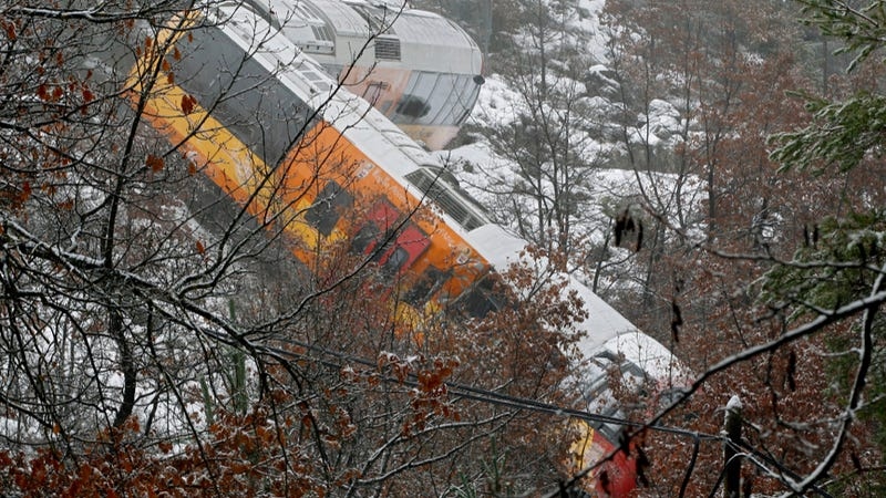 Boulder Smashes French Train In Worst Public Transit Nightmare