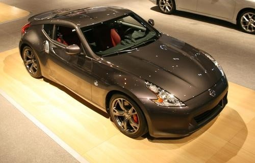 Nissan 370Z 40th Anniversary Display