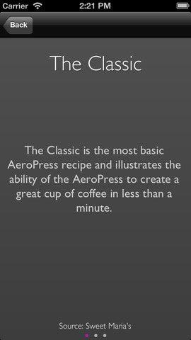 Aeropress Timer Gallery