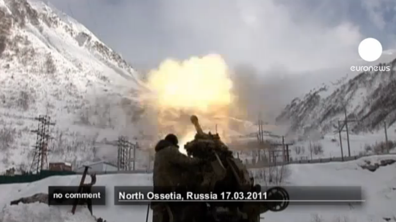 Watch Heavy Artillery Create a Massive Avalanche... On Purpose