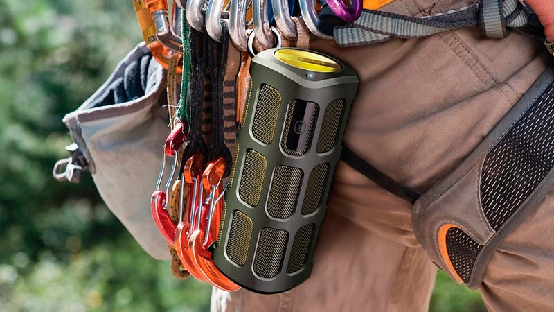 Rugged Motion-Controlled Bluetooth Speaker Is Ready For Mother Nature's Abuse (and Your Jedi Impressions)