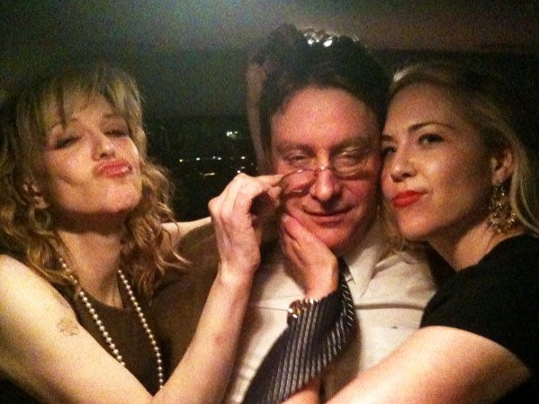 Courtney Love's Three-Way Cuddle Puddle with a Sex Writer and a Gossip Columnist
