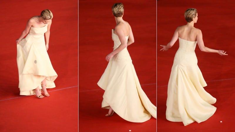 Your BFF Jennifer Lawrence Had a Blast in Rome Last Night