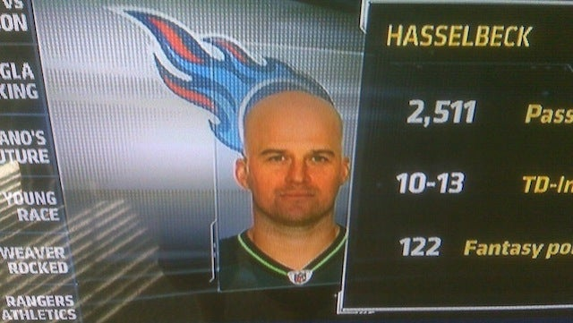 This Evening: Thanks To ESPN, Matt Hasselbeck's Hair Has Grown Back