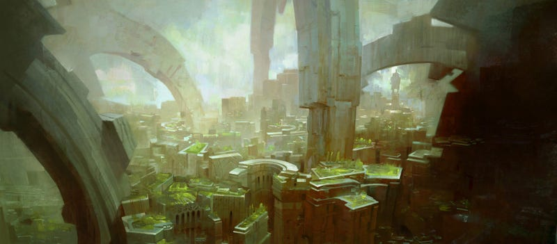 Concept Art From Guild Wars, Halo and Beyond