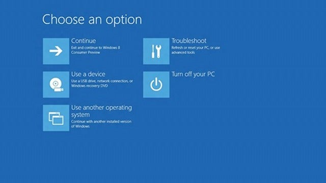 Windows 8 Boots So Fast You Can't Access the Boot Menu