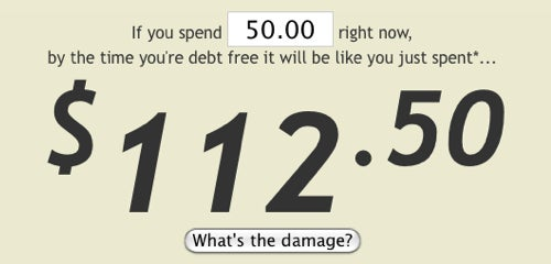 The Real Damage Calculates the True Cost of a New Purchase on Your Credit Card