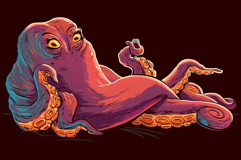 Tentacle Art That Will Wrap All The Way Around Your Mind