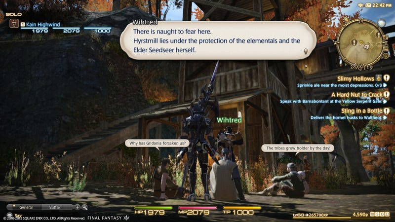 First Look at Final Fantasy XIV's Shortcut System for the PS3