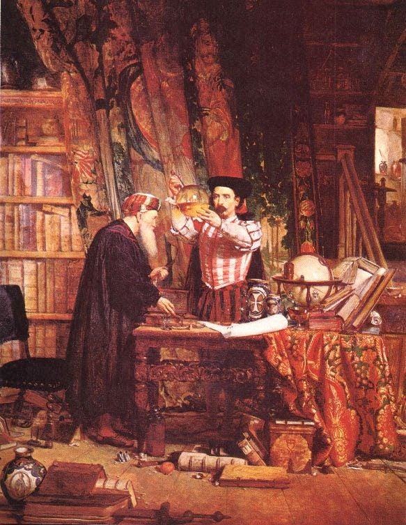 Alchemists, Astronomers, and Wild Men: A History of the Mad Scientist, Part One