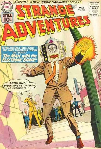In praise of that nameless guy who was always yelling on old comic covers