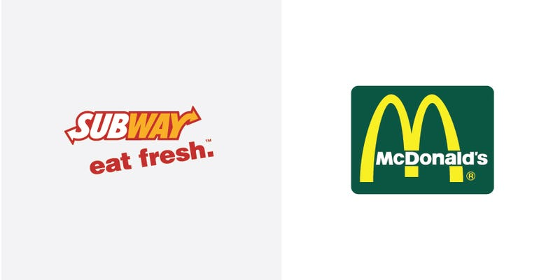 What happens when you swap the colors of famous logos?