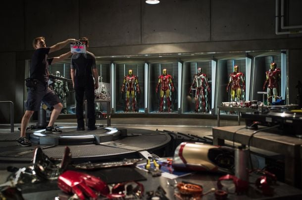 First Look at Iron Man 3!