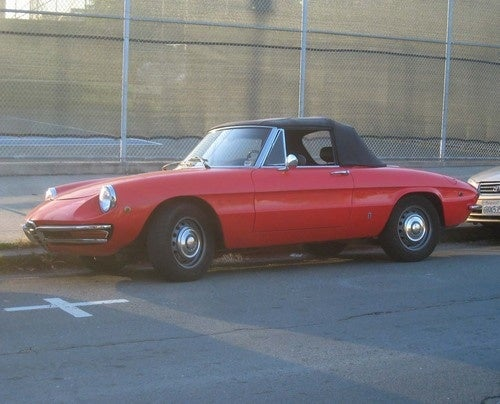 1969 Alfa Romeo Spider Down On The Alameda Street