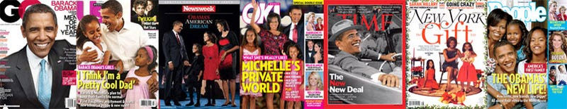 Obama and His Kids Single-Handedly Prop Up Print