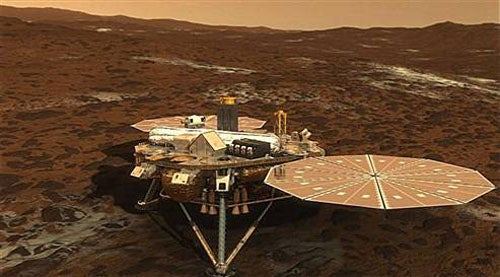 Sad, Lonely Mars Phoenix Lander Gets One Last Chance to Call Home