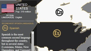 See the World's Second Most Spoken Languages with This Interactive Map
