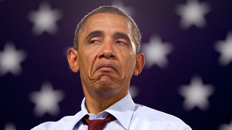 Potus Will Make this Face If You Try to Tell Him How Good The Fountainhead Is