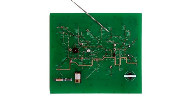 All Circuit Boards Should Be As Pretty As This One