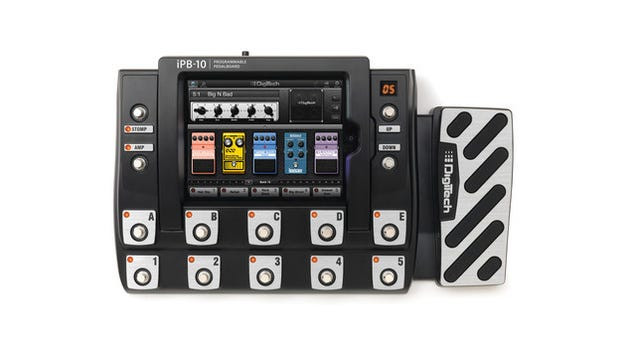 The DigiTech iPad Guitar Pedal Board Might Be the Perfect Sound-Mutilating Machine