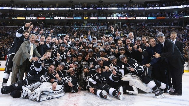 """L.A. Kings Win Stanley Cup; """"Mavs Win!"""" Proclaims NBC Sports"""