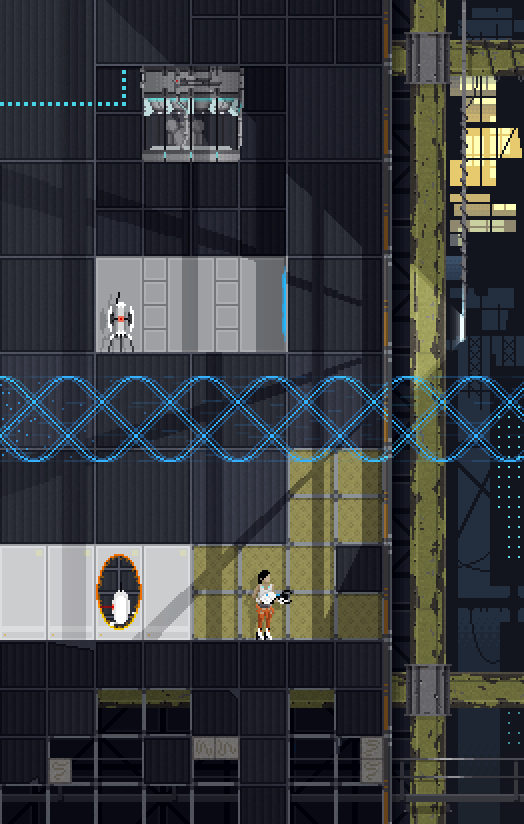 Mass Effect, Portal, and More as Things of Pixelated Beauty