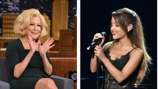 Bette Midler on Ariana Grande: Don't Make a Whore of Yourself