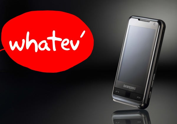 "Samsung ""Announces"" Omnia Cellphone on the Worst Day Ever"