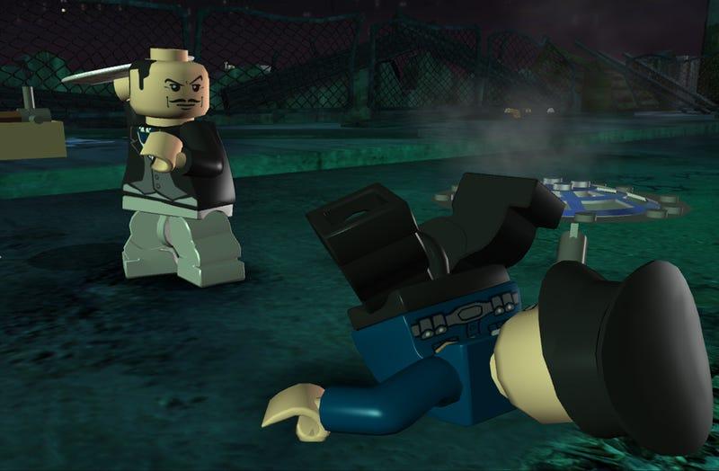 Lego Batman Gains Lego Butler