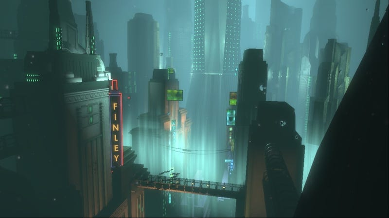 Amazing Optical Illusion, Using A Single GIF, Takes You On A Journey To BioShock's Rapture