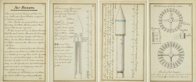 A 1785 Guide to Making Your Own Fireworks