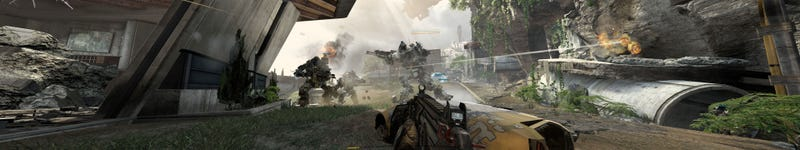 7680x1440 Titanfall Screens Are Just Being Silly