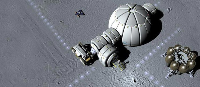 Instant Moon Base to Be Delivered by Ares Rocket