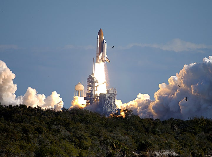 Today's Space Trivia - STS-107 Launch